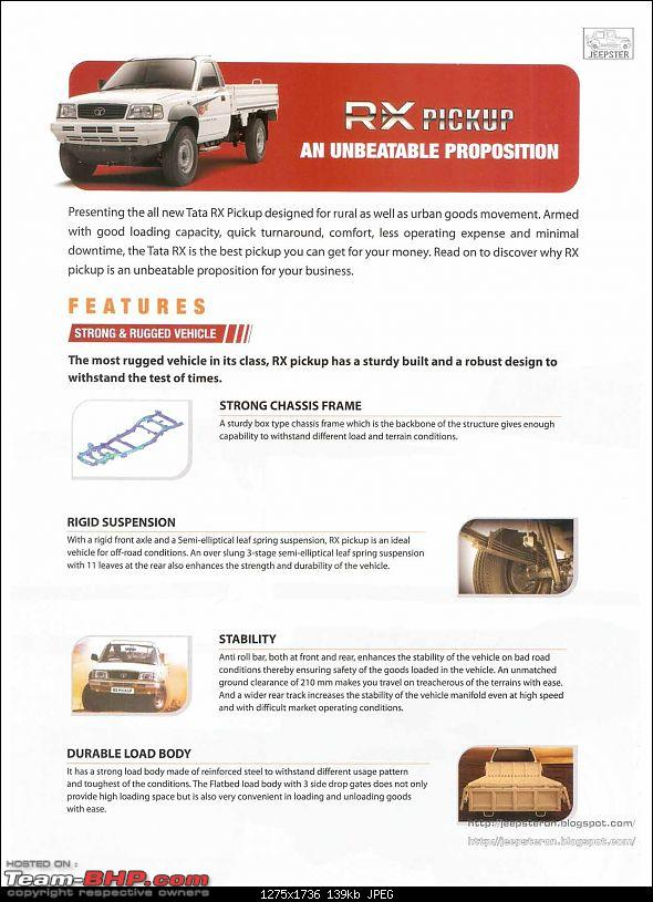 Tata XENON Pickup RX series launched. The Basic, workhorse variant-scan0002.jpg