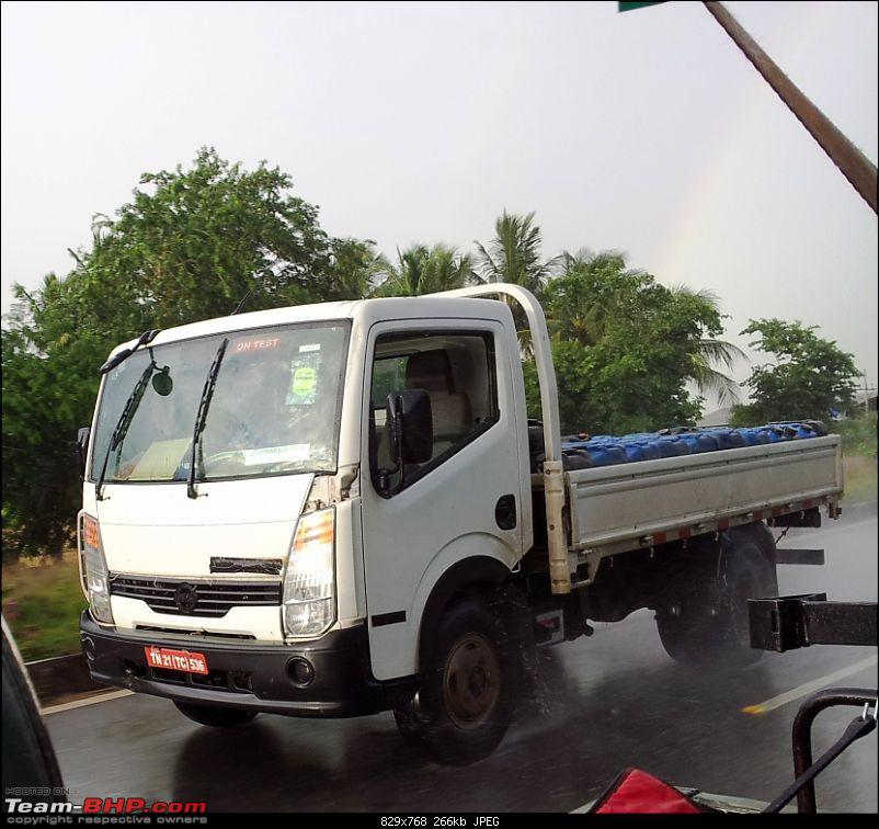 SCOOP : Nissan Commercial Vehicle spotted testing EDIT : Now as Ashok Leyland-20120813_173916.jpg