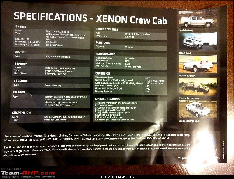 Tata Xenon Pick-Up Range Launched @ 5.44 Lakhs-20120903_165552.jpg