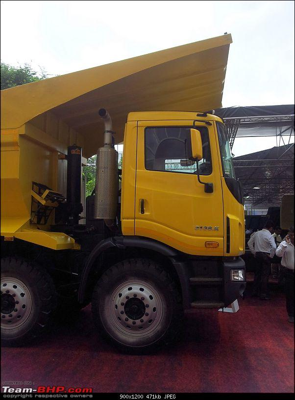 Tata Motors launches 6 Heavy Trucks & FleetMan Telematics Services-20120917_110122.jpg
