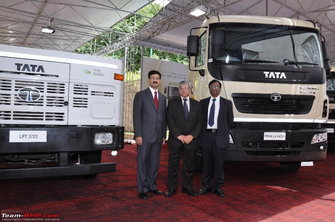 Tata Motors launches 6 Heavy Trucks & FleetMan Telematics Services ...