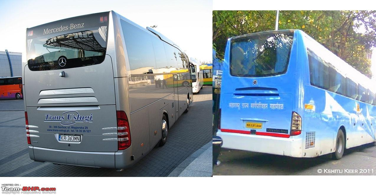 Fully Built Buses Vs Third Party Body Builders Page 3 Team Bhp