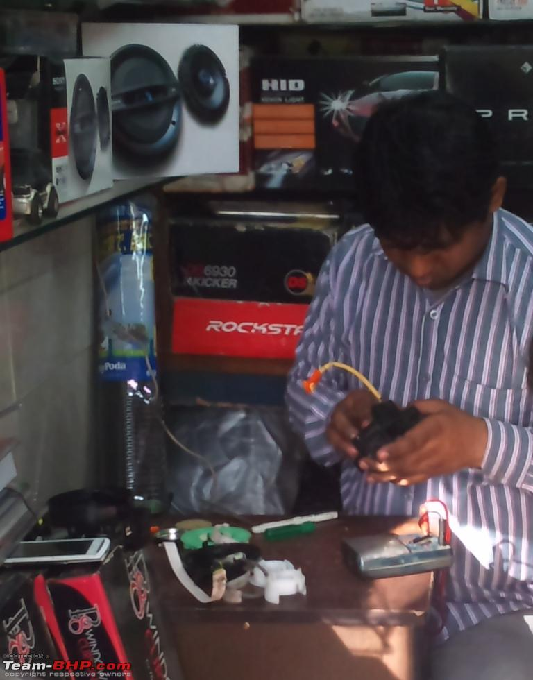 The ECM & Electronics Guy - Rajender (Khan Market, New Delhi