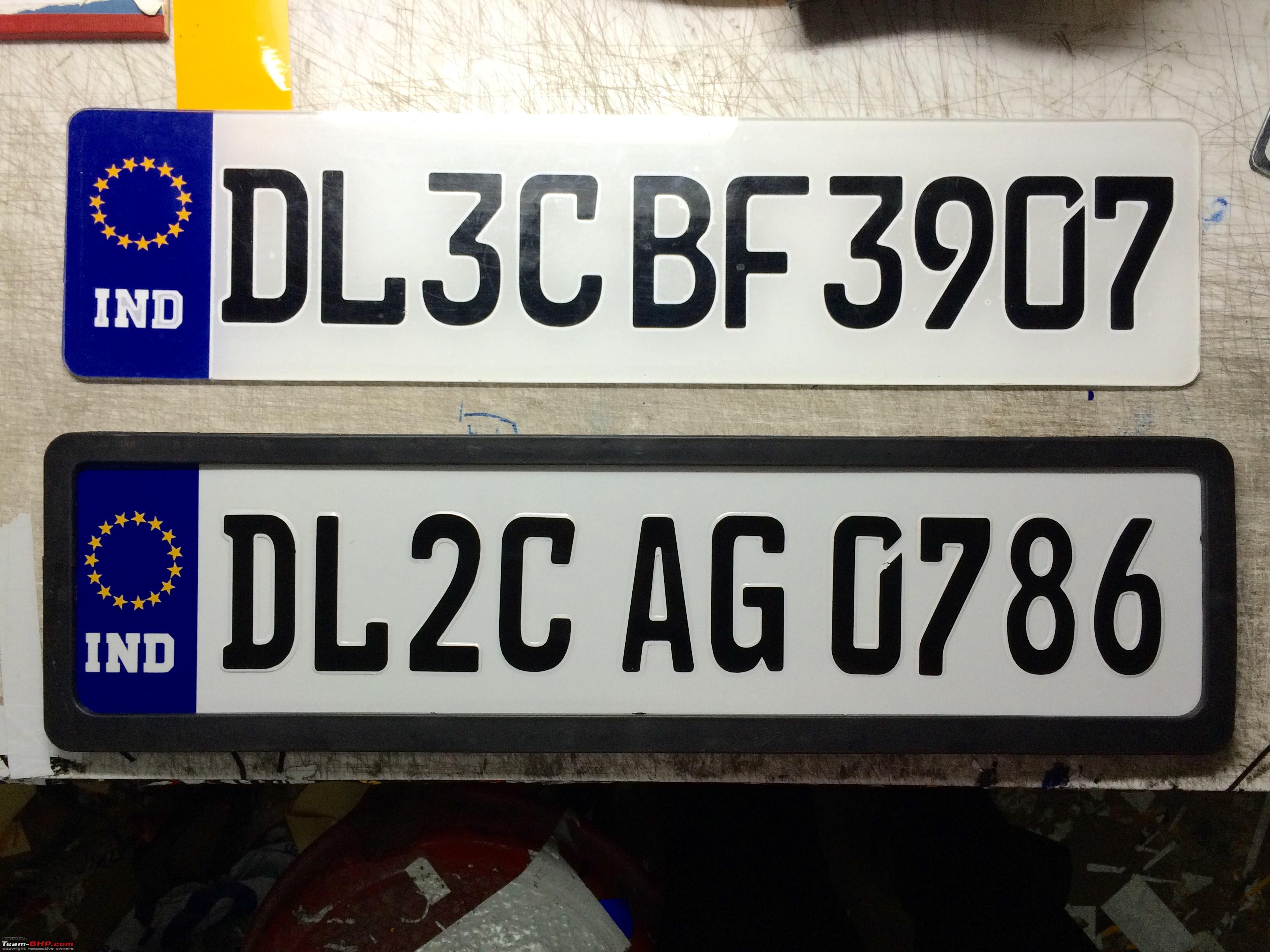 Number Plates and Stickers - Tarun Cars (Lajpat Nagar, Delhi ...