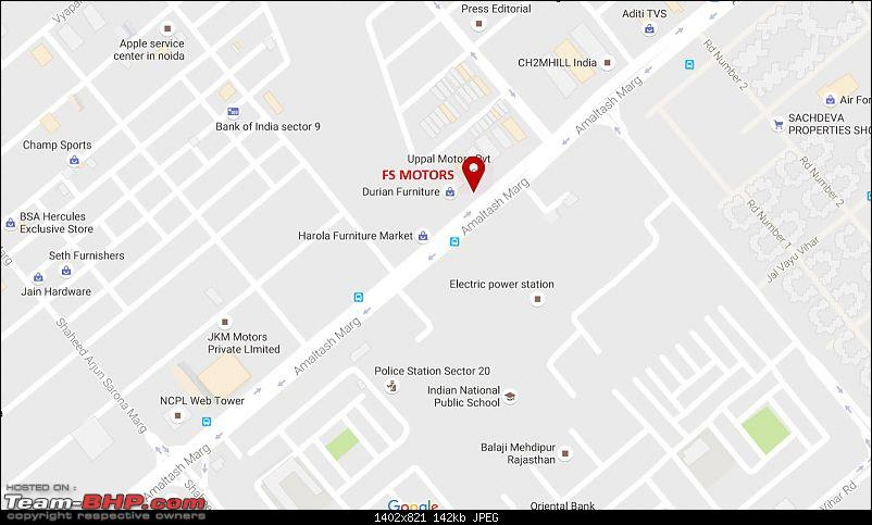 Detailing & related services - 3M Car Care (Sector 10, Noida)-map-2.jpg