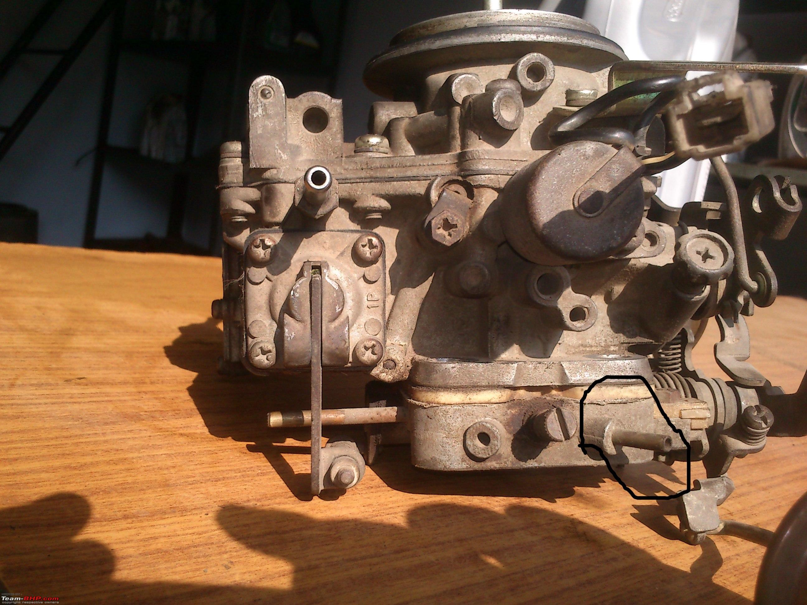 DIY : Great way to use a Sunday Part I - Carb Cleaning of Maruti 800