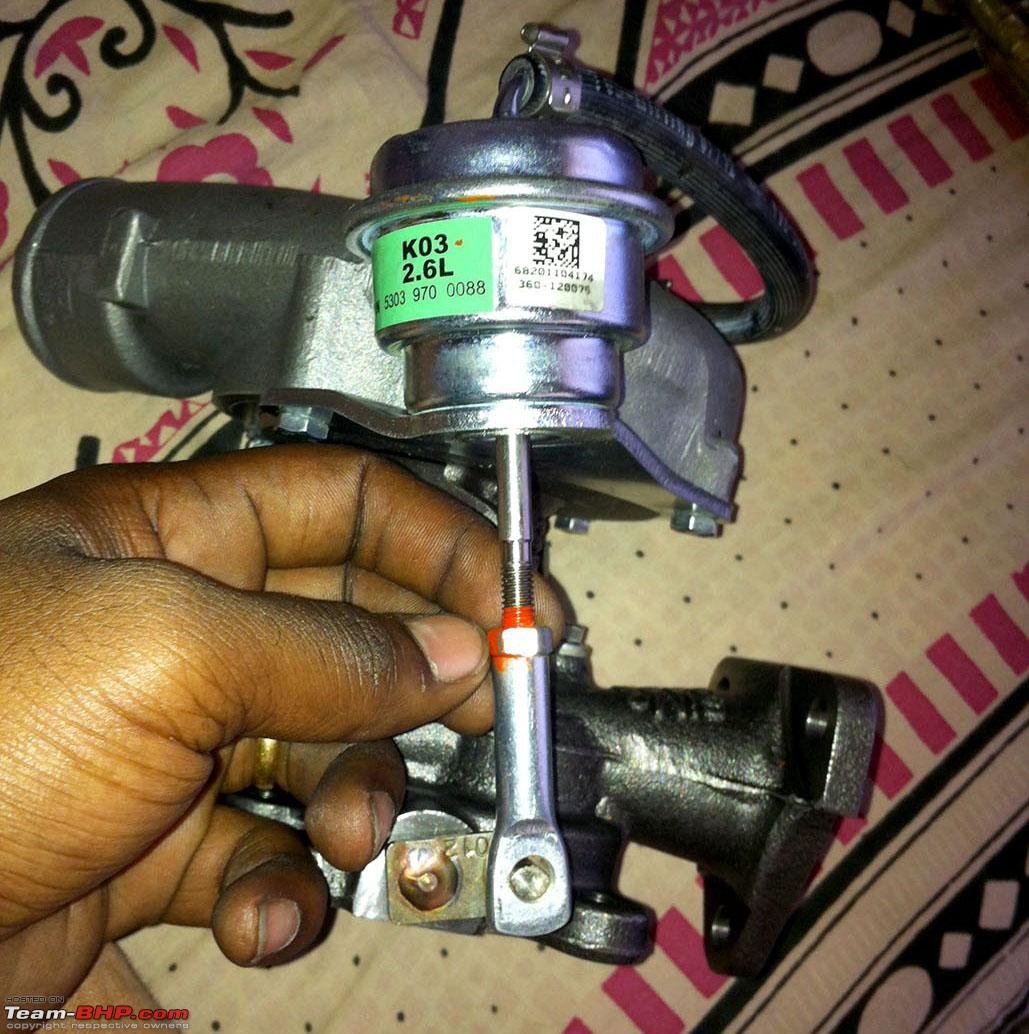 DIY: Adjusting the Turbo Wastegate / Preload for More / Less