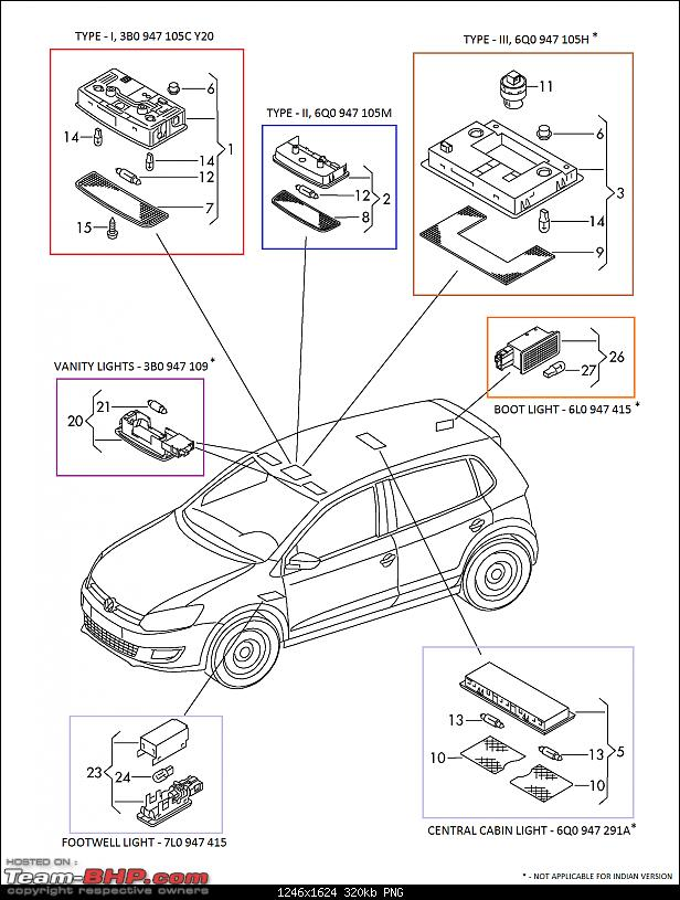 overhead door wiring diagrams vw polo diy upgrading cabin light  headlight switch  vw polo diy upgrading cabin light  headlight switch