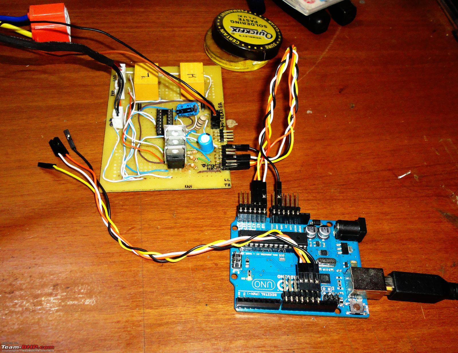 Diy project automatic headlamp control using arduino team bhp diy project automatic headlamp control using arduino dsc00004g solutioingenieria Images