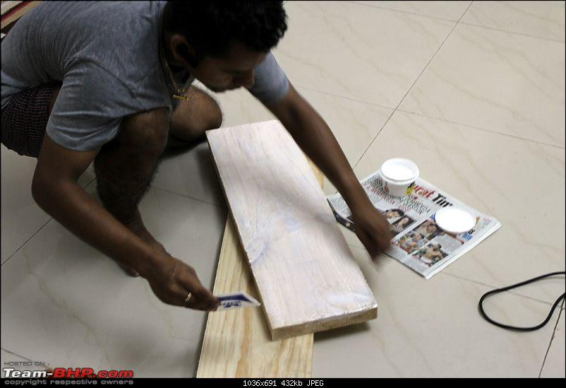 DIY: Inexpensive home-made Car Ramps-applying-adhesive.jpg