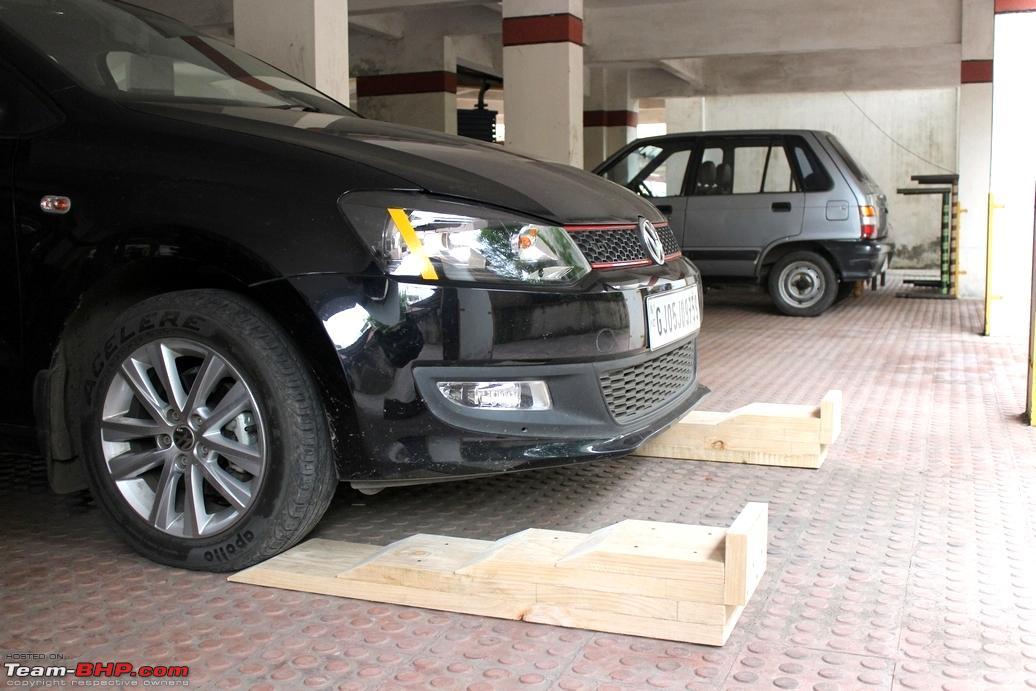 Diy Inexpensive Home Made Car Ramps Team Bhp