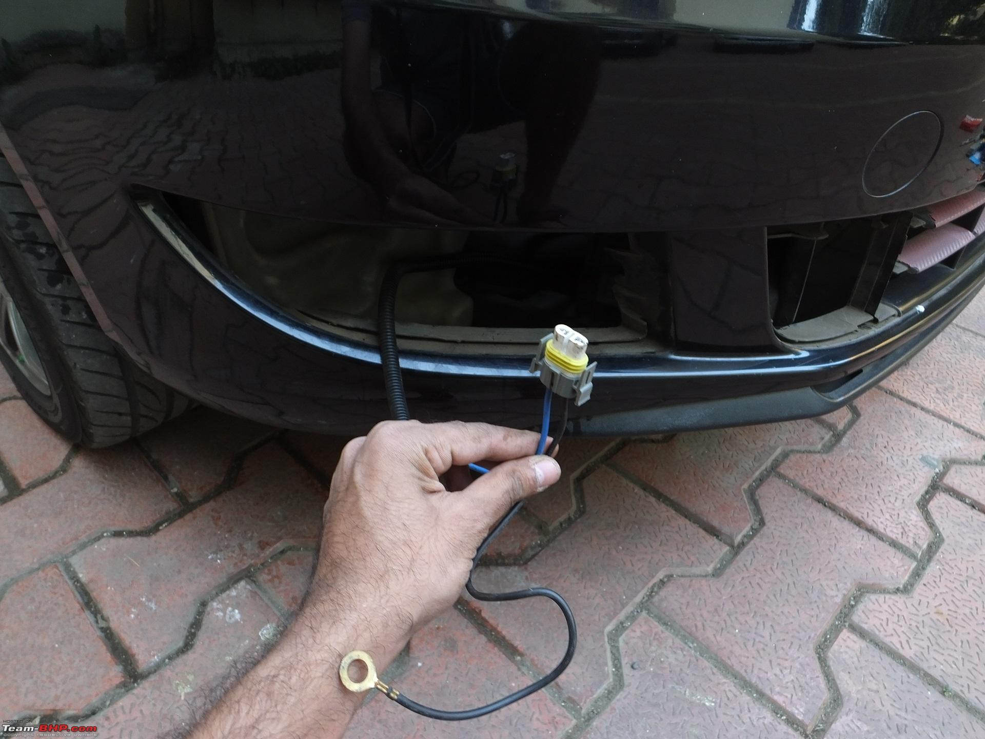 DIY: Skoda Fabia Foglamp installation!-wire-routed.jpg