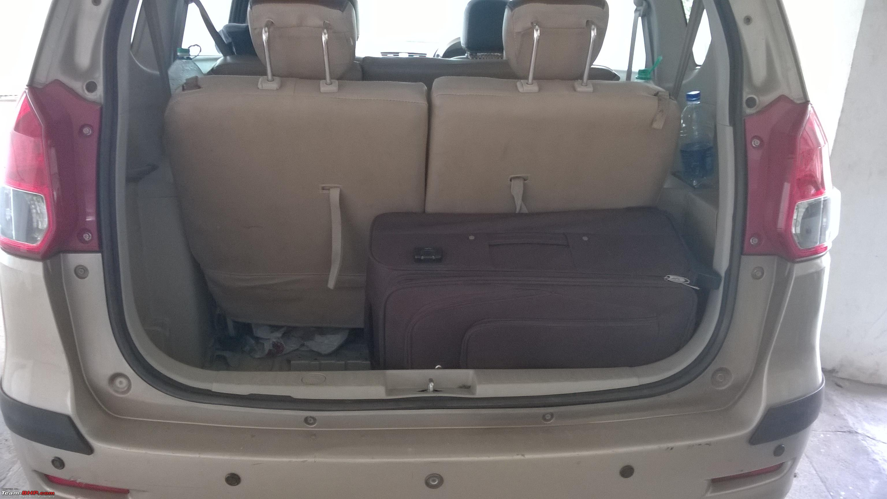 DIY Increasing the Maruti Ertiga s Boot space Team BHP