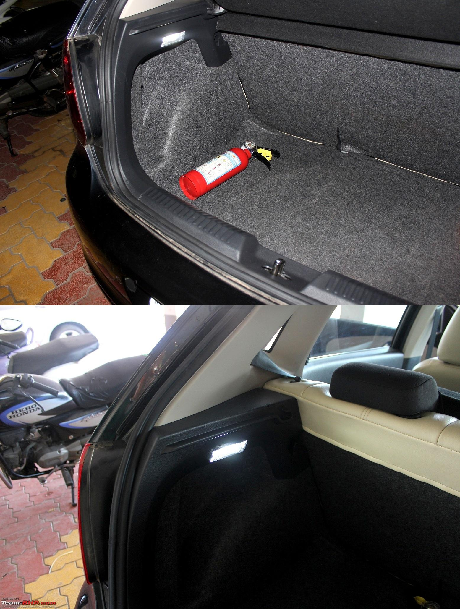 Vw Polo Diy Adding A Boot Lamp Team Bhp