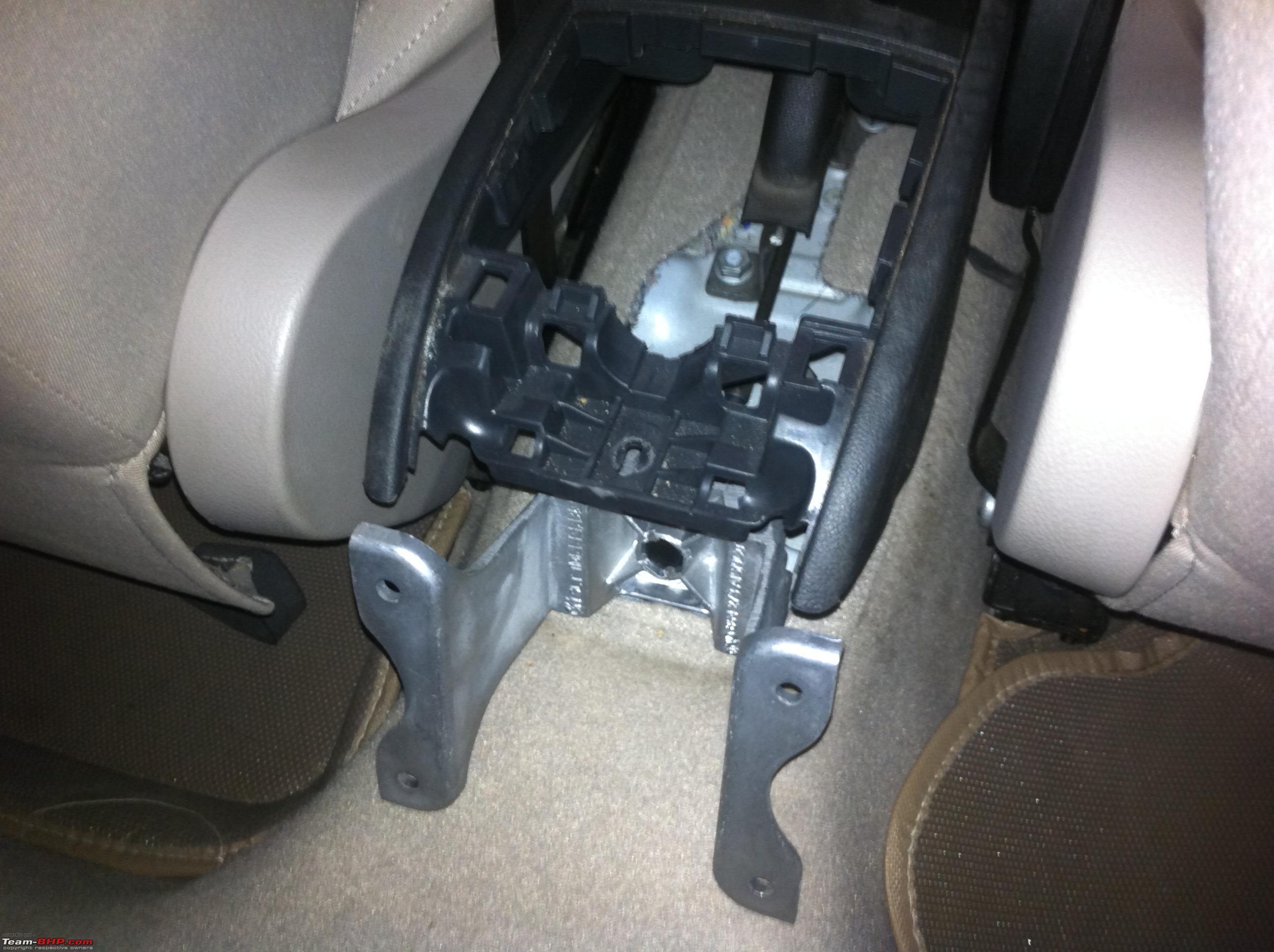 Vw Polo Diy Gti Spec Front Armrest Installation 024