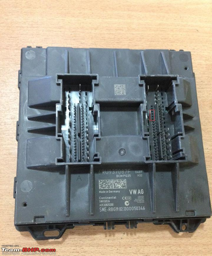 Where Is The Body Control Module On: VW Polo DIY: Upgrading The BCM (Body Control Module