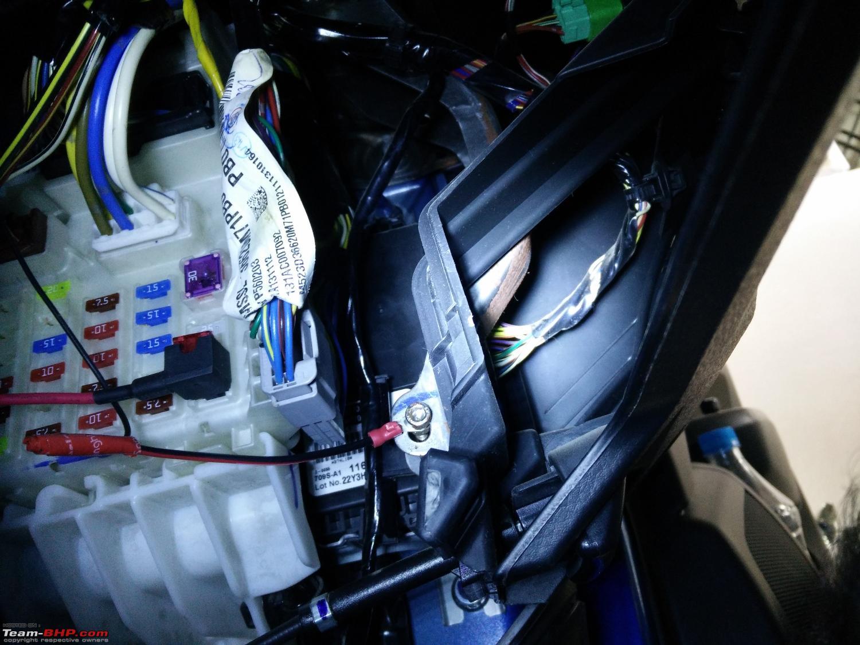 Diy Install Auto Dimming Irvm Anti Glare Orvms Team Bhp Fuse Box Fiat Punto Electric Windows 2
