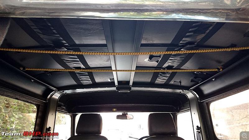 DIY: An overland vehicle on a budget! Storage & sleeping area in a Thar-dsc_0089.jpg