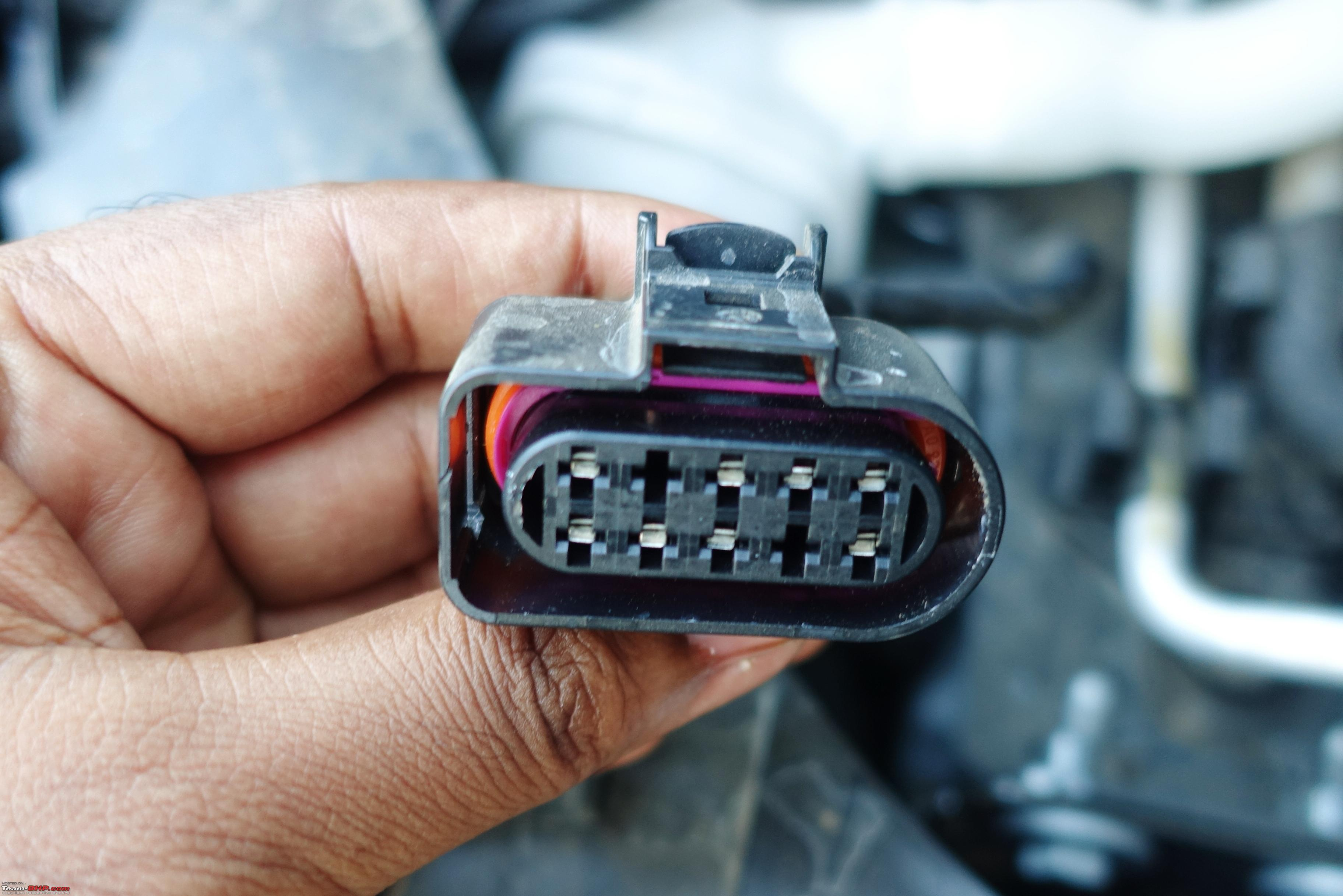 Installed Bi Xenon Projectors On My Vw Polo Gt Tsi Edit Electrical White Wiring Accessories Dimmer Pull Cord Switch Reliability
