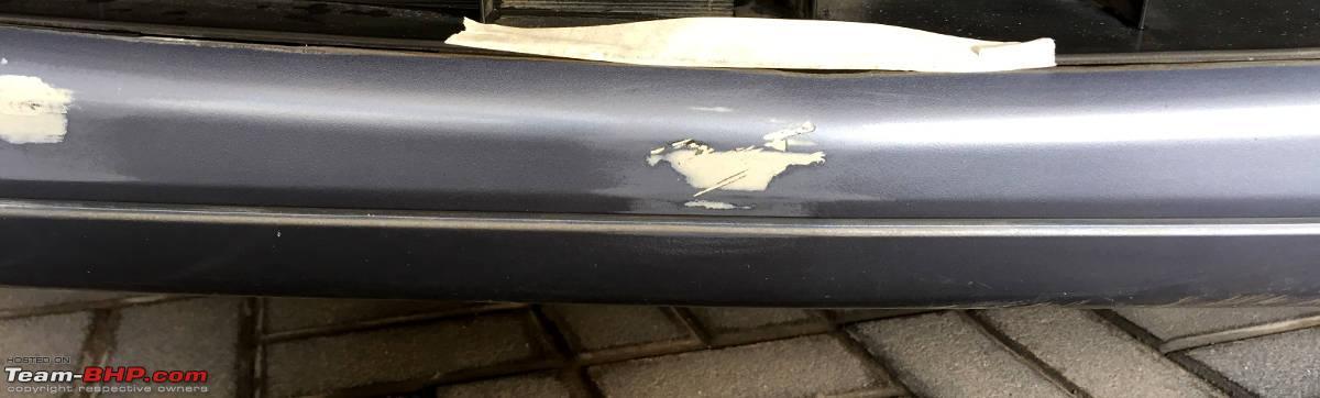Diy fixing a scraped scratched bumper 15 jpg