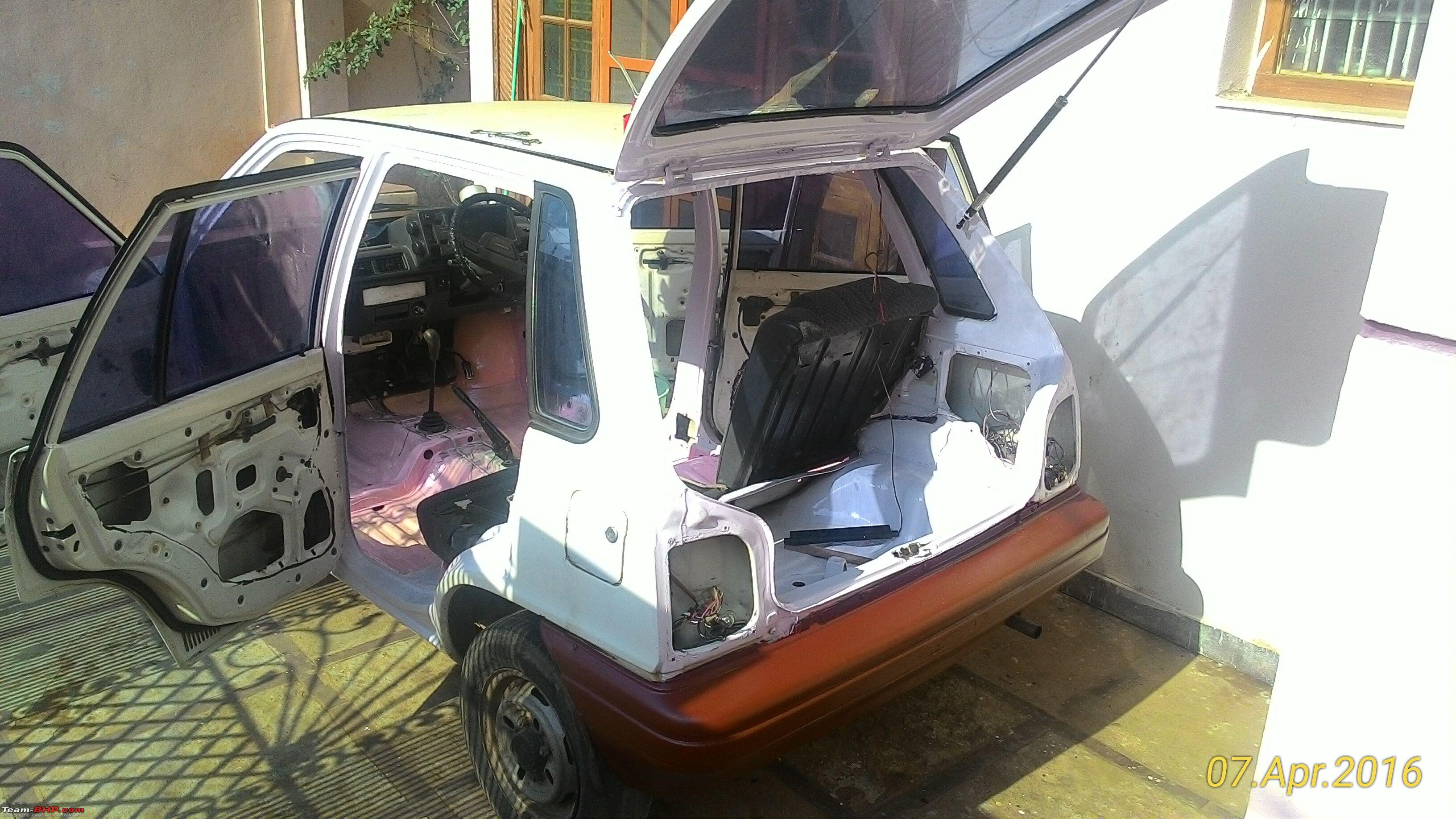 Diy Refurbishing A Maruti 800 On A Budget Team Bhp
