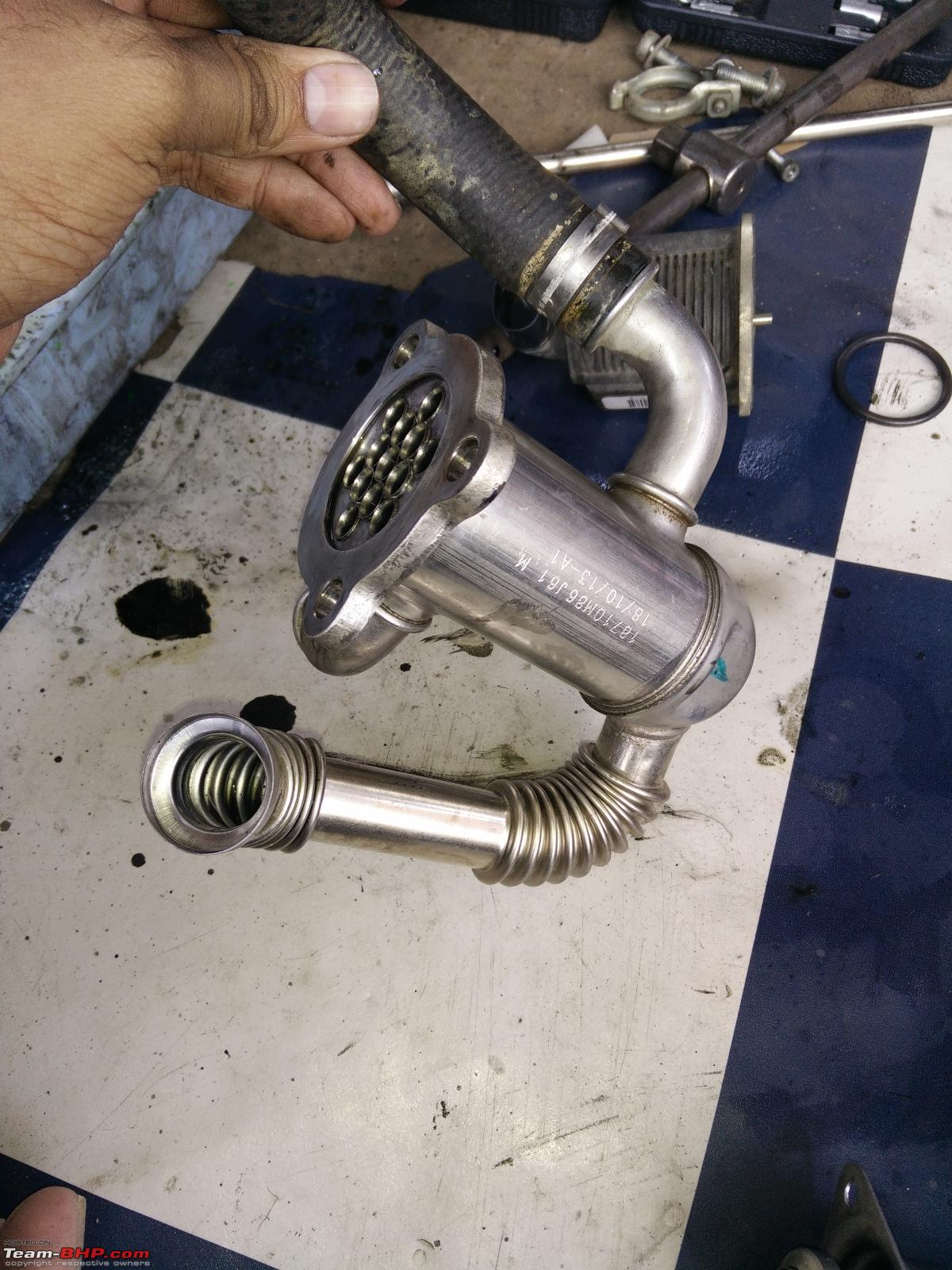 DIY: EGR Valve Cleaning (1 3L DDiS / MJD) - Team-BHP