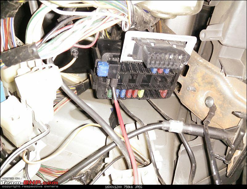 DIY: Tachometer Installation for WagonR & A-Star LXi-2.-fuse-tap-cable-515a-fuse-earthing-also-seen.jpg