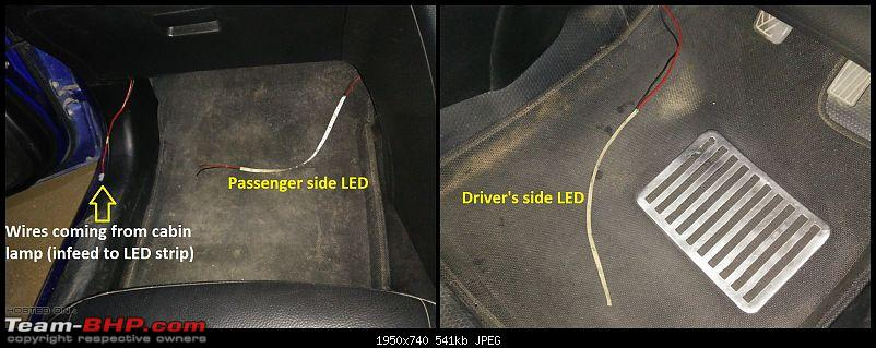 D.I.Y. Install: LED Footwell Lighting-11.-led-strips-kept-either-sides.jpg