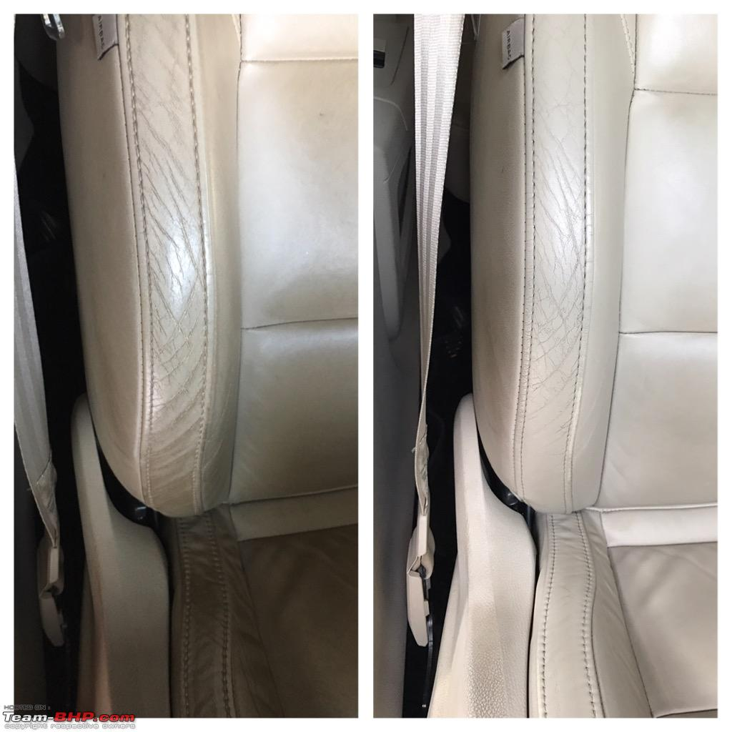 Diy Cleaning Your Car S Leather Seats Team Bhp