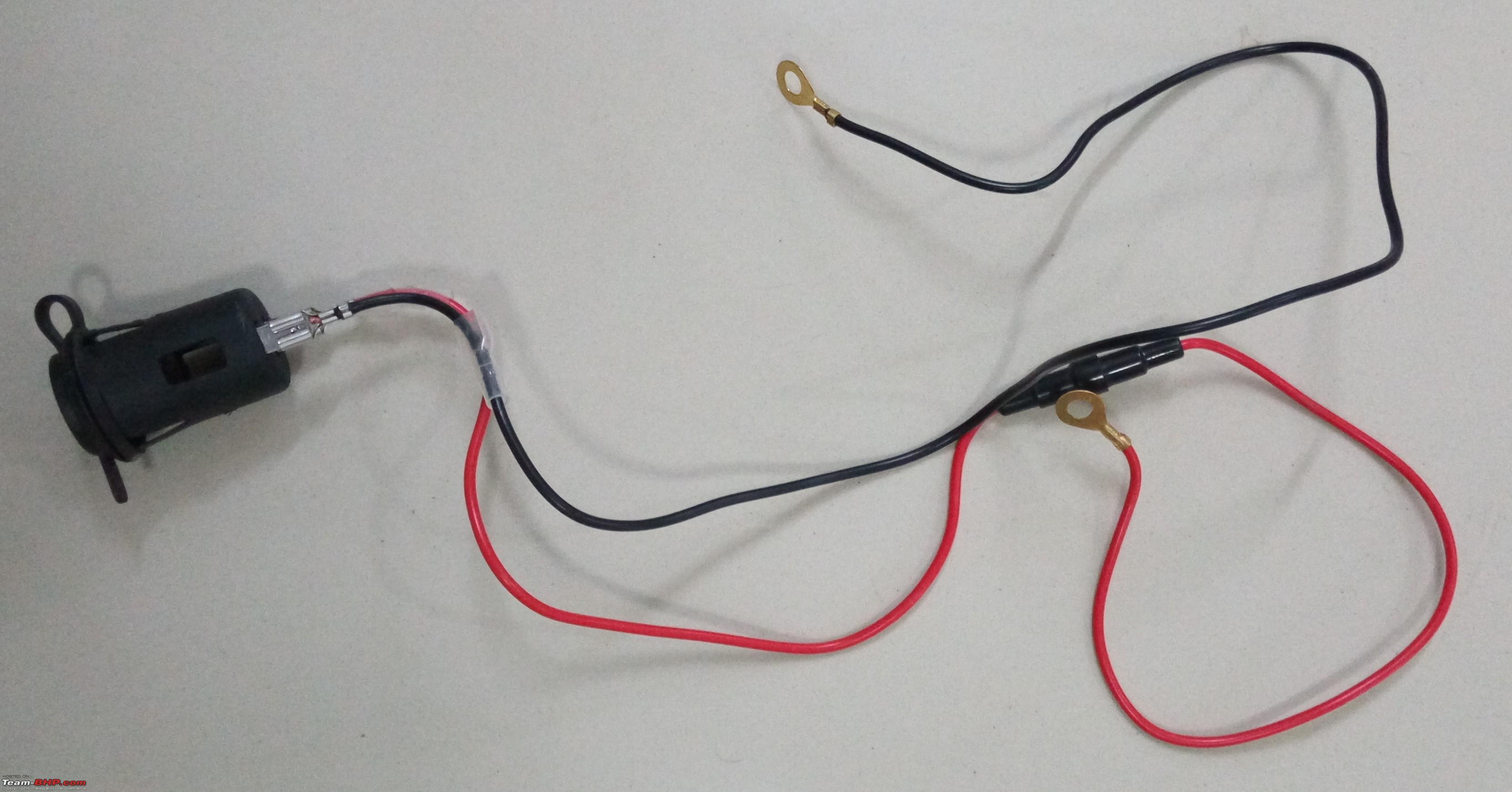 S Cross Diy Tpms 12v Socket Installation Team Bhp Cigurate Lighter Wiring Diagram 2006 Gto