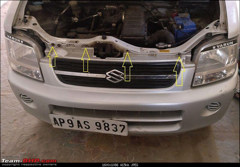 DIY: Radiator Replacement in a Maruti WagonR-10.-bumper-removed.jpg