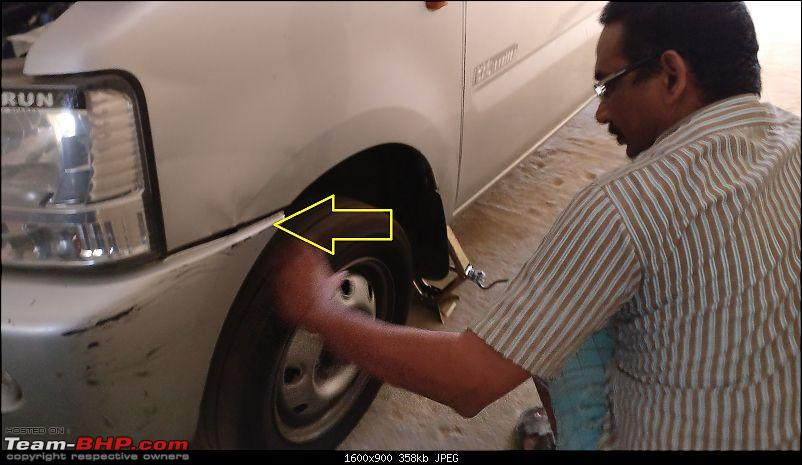 DIY: Radiator Replacement in a Maruti WagonR-5.-car-jacked-up.jpg
