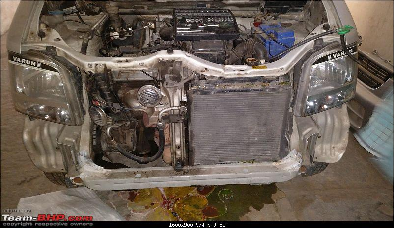 DIY: Radiator Replacement in a Maruti WagonR-12.-bumper-removed.jpg