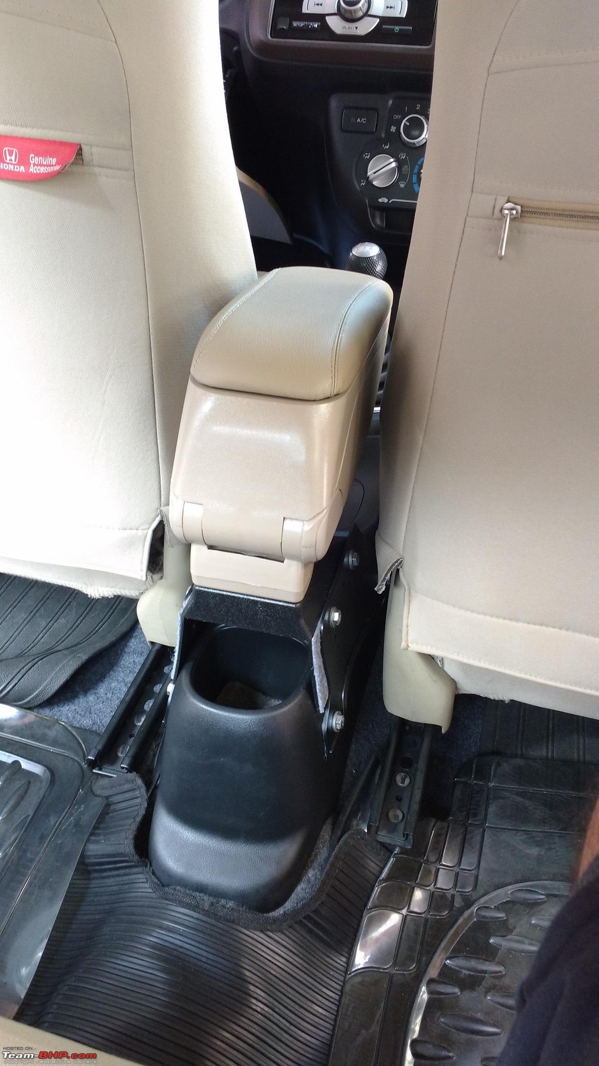 Honda Brio Diy Driver S Armrest With Felt Lined Storage