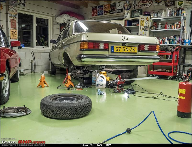 My Car Hobby: A lot of fiddling, and some driving too! Jaguar XJR, Mercedes W123 & Alfa Romeo Spider-pb220001.jpg