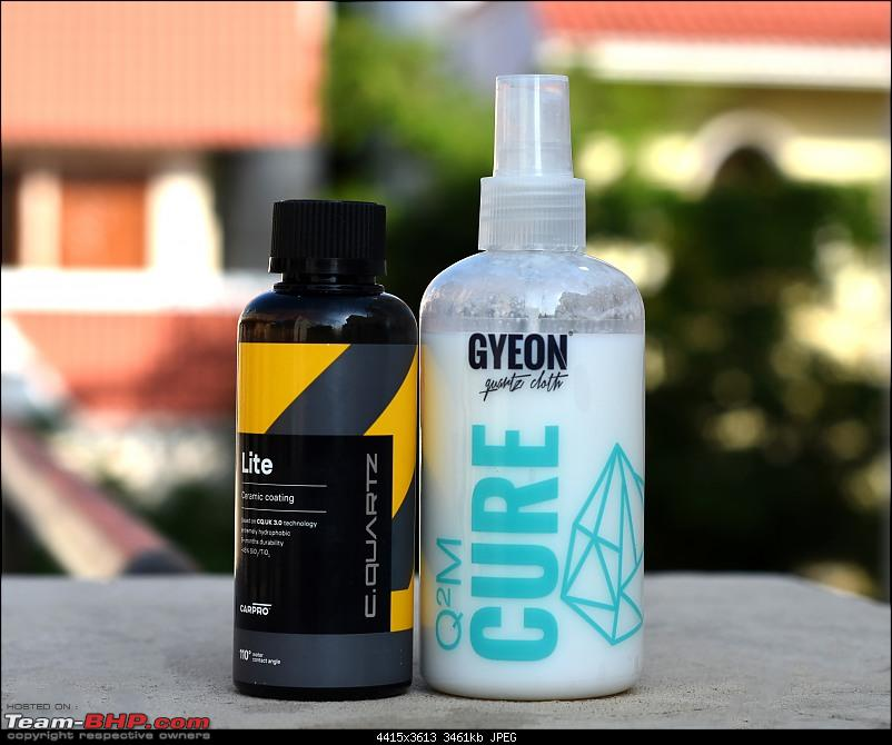 My experience with Car Care products; How I Ceramic-Coated my Vento at home-lite-beside-cure.jpg