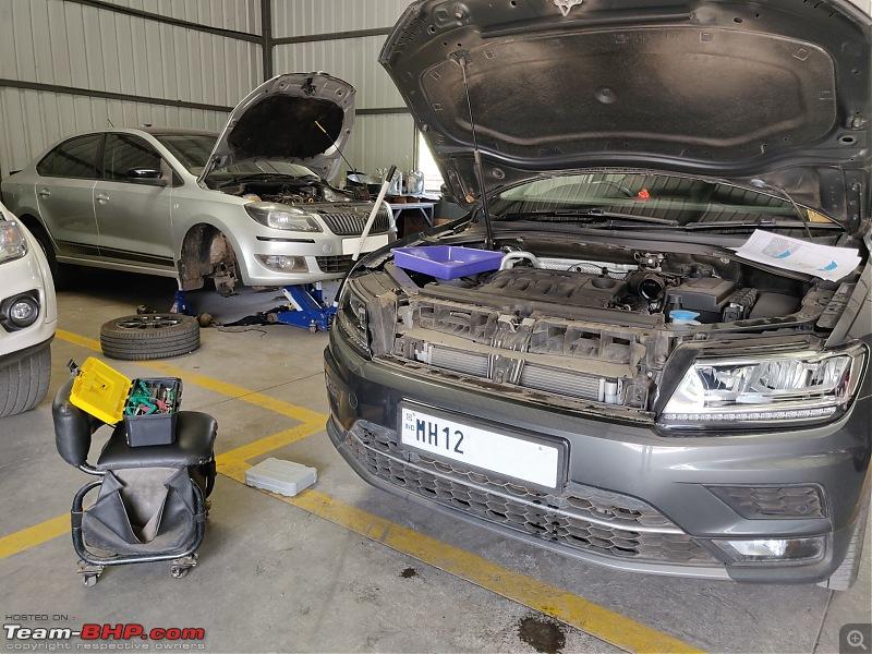 DIY: Adaptive Cruise Control (ACC) retrofit on our VW Tiguan-tiguan-nose-while-working.jpg