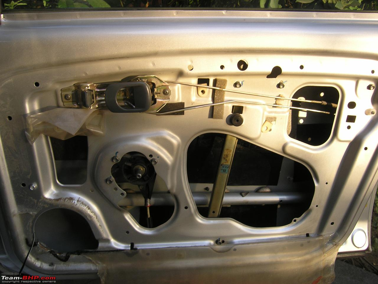 Diy Guide How To Remove Door Panels Tata Indica Team Bhp