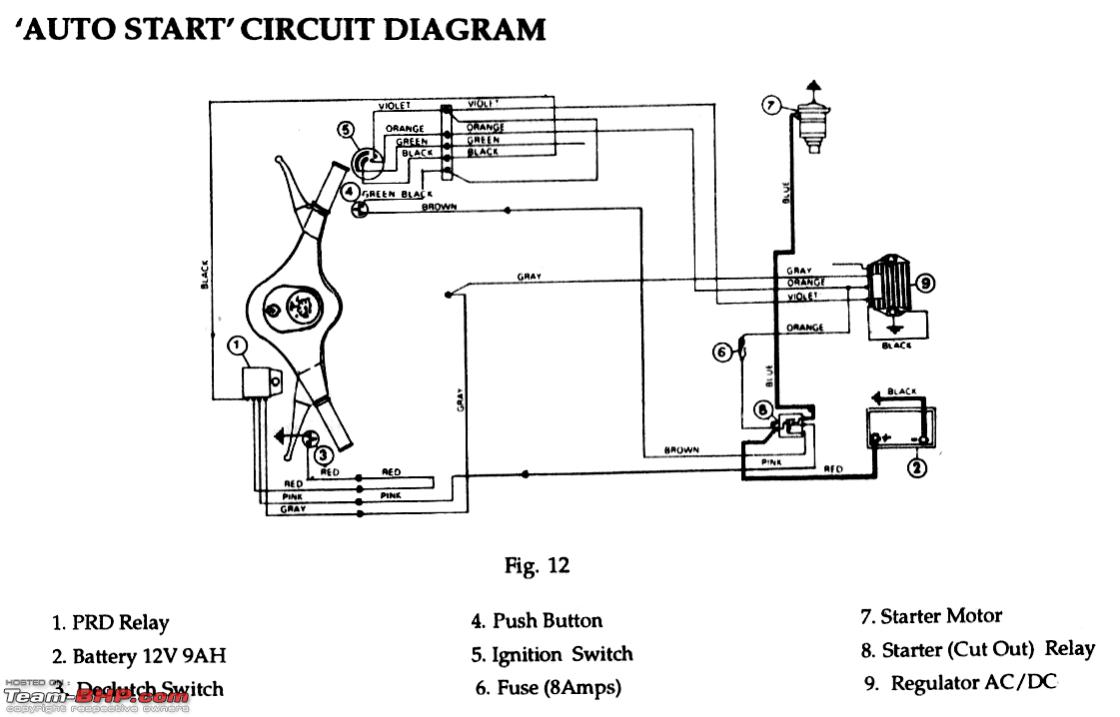 Tachometer Wiring Schematic Diy Tacho For A Car Using Bikes Page 2 Team Bhp Manual Diagram Part