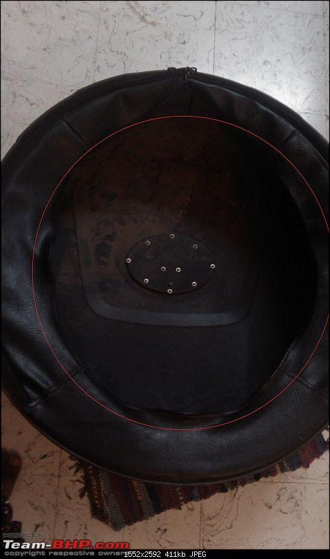 DIY : How to secure a Tata Safari Spare wheel cover from theft-imag0172.jpg
