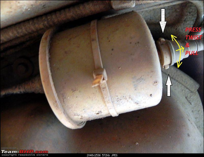A List of DIY's for your car: A Pictorial Guide-fuel-filter-remove.jpg