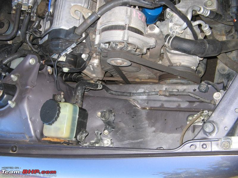 Name:  Coolant  Washer Tank Removed.JPG