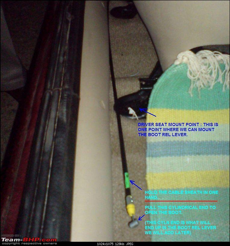 Unlocking the Ford Ikon : DIY Boot Release set-up-14-routing-driver-seat.jpg