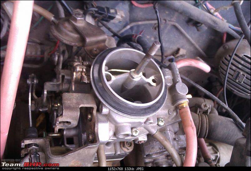 DIY : Great way to use a Sunday Part I - Carb Cleaning of Maruti 800-1a-carb.jpg