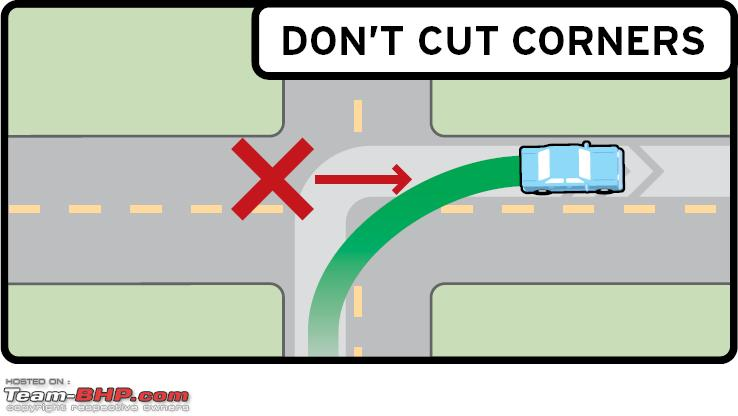 Name:  REVERSED RIGHT Turn DONT CUT CORNERS.PNG Views: 46487 Size:  18.3 KB