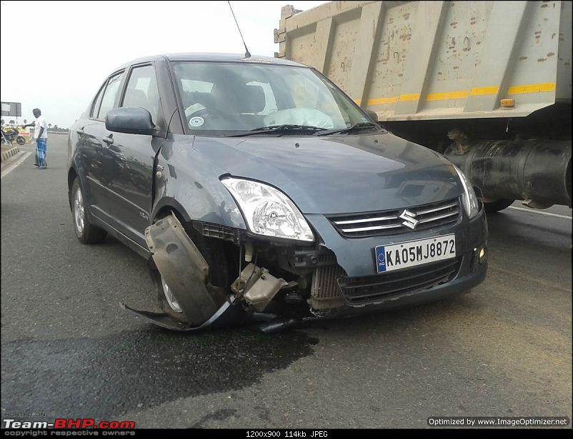 Dzire Accident: How seatbelts, ABS & airbags saved my life. Update from NHAI on page 8-1.jpg