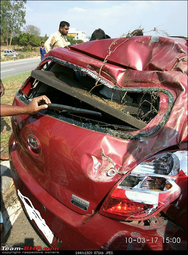 God's Grace! Seatbelts, child seat & safe car - An accident survivor's tale-img_20170310_150041.jpg