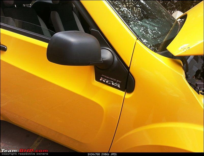 """SCOOP : Detailed Reva NXR pictures. UPDATE: Badged as the """"E2O""""-3.jpg"""
