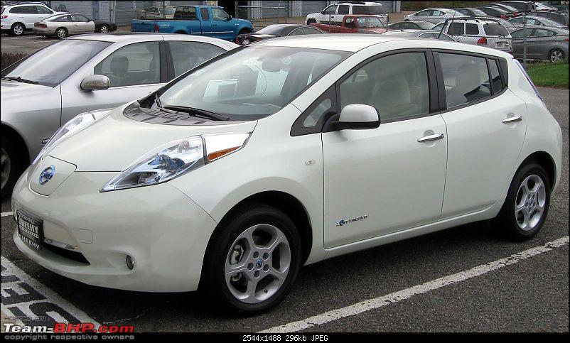"So, just how ""green"" are Electric Vehicles (specifically in India)?-2011_nissan_leaf_sl__10282011.jpg"