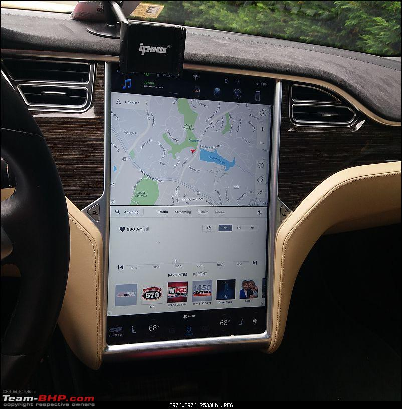 Experienced the Tesla Model S P90D!-massive-touch-screen.jpg